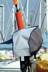 Blue Performance Outboard Cover 1